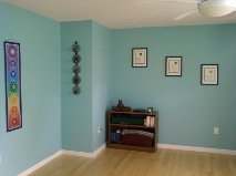 my home yoga studio