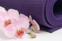 yogamatlotusflower