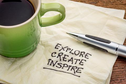 explore create inspire